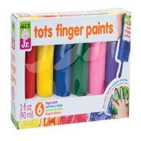 ALEX Jr. 6 Tots Finger Paints
