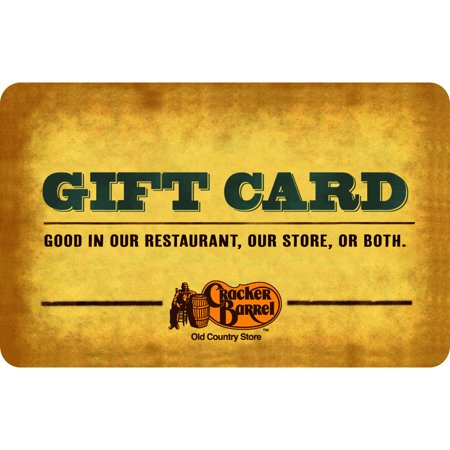 Cracker Barrel $25 Gift Card ()