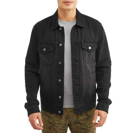 Men's Denim Jacket, Up to Size 3XL (Coldgear Mens Jacket)