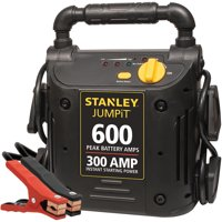 Stanley JumpIt 600-Amp Peak Jump Starter (Black)