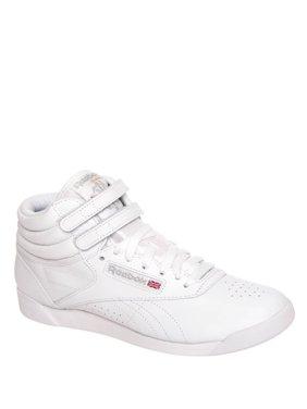 272e334372f Product Image Reebok Classic Leather Hi Top Sneaker - White   Silver