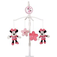 Disney Baby Minnie Mouse Mobile, Pink