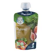 Gerber Organic 2nd Foods, Apple, Kale & Fig, 3.5 oz Pouch
