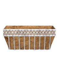 Better Homes and Gardens Outdoor Lattice Coco Window Box Planter