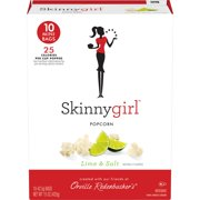 (3 Pack) Orville Redenbacher's Skinnygirl Microwave Popcorn, Lime & Salt Popcorn, 1.5 Oz, 10 Ct