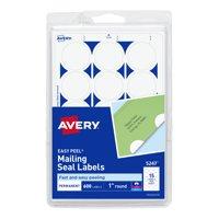 "Avery Mailing Seals, Permanent Adhesive, 1"" Diameter, 600 Labels (5247)"