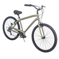 "Huffy 27.5"" Parkside SE Mens 7-Speed Comfort Bike with Perfect Fit Frame, Sage"