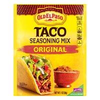 (4 Pack) Old El Paso Taco Original Seasoning Mix, 1 oz Packet
