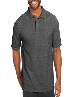 Big Men's X-Temp with Fresh IQ Short Sleeve Pique Polo Shirt