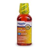 Equate DayTime Severe Multi-Symptom Relief Liquid, 12 fl oz