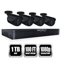Night Owl 8 Channel HD Video Security DVR with 1 TB HDD and 4 x 1080p HD Wired Bullet Cameras