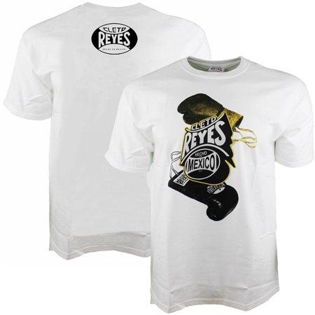 Cleto Reyes Printed Boxing Gloves T-Shirt - - Reyes T-shirt