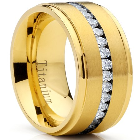 GoldTone Titanium Men