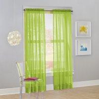 No. 918 Calypso Sheer Voile Rod Pocket Curtain Panel