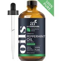 Peppermint Oil (4oz) - 100% Pure Natural Mentha Piperita Essential Oil