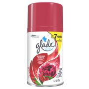 Glade Automatic Spray Air Freshener Refill, Blooming Peony & Cherry, 6.2 Ounces