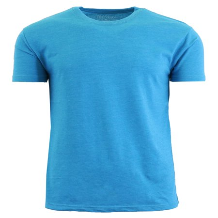 Mens Crew Neck Heather Colored Tees