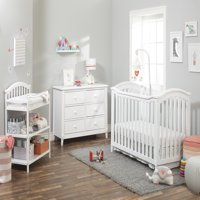 Sorelle Berkley Classic 4 in 1 Crib - White