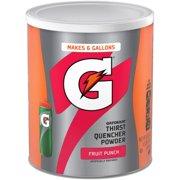 (3 Pack) Gatorade Thirst Quencher Drink Mix, Fruit Punch, 51 oz, 1 Ct