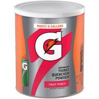 Gatorade Thirst Quencher Fruit Punch Powder, 51 Oz.