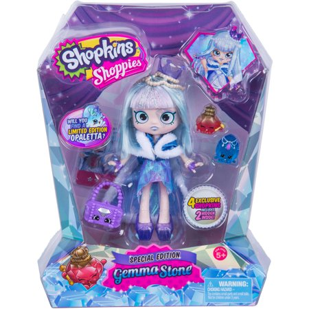 LIMITED EDITION - Shopkins Shoppies Gemma Stone