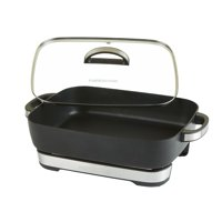 Farberware Seven-Quart XL Nonstick Electric Skillet, Black