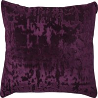 Mainstays Velvet Oblong Decorative Throw Pillow, Purple