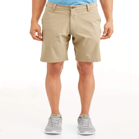 - Swiss Tech Men's Performance Flat Front Short