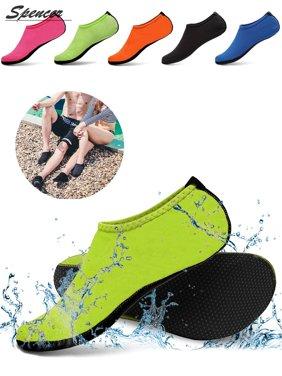 Spencer Men Women Barefoot Water Skin Shoes Aqua Socks for Beach Swim Surf Yoga Exercise