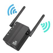 TSV Wifi Extender WiFi-Repeater 300Mbps WiFi Range Extender Internet Booster Signal Wireless WiFi Extender with 2 External Antennas