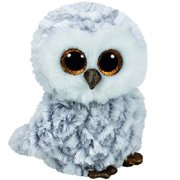 7906a865c6a Ty Owlette the Grey Gray and White Owl Beanie Boos Stuffed Animal Plush Toy