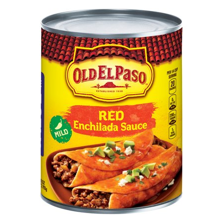 (2 Pack) Old El Paso Mild Enchilada Sauce, 28 oz (Authentic Red Enchilada Sauce)