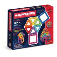Magformers Rainbow 30 Piece Magnetic Construction Set