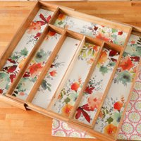 """The Pioneer Woman Willow 18"""" x 13"""" Expandable Cutlery Tray"""