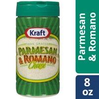 (2 Pack) Kraft 100% Grated Parmesan & Romano Cheese Shaker, 8 oz Bottle