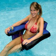 Best Floating Chairs - Swimline 90465 Inflatable Nylon Fabric Covered Swimming Pool Review
