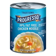 (8 Pack) Progresso Soup Traditional 99% Fat Free Chicken Noodle Soup 19 oz Can