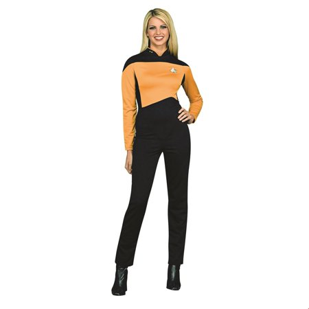 Star Trek Womens Deluxe Operations Halloween Costume](Star Trek Female Costumes)