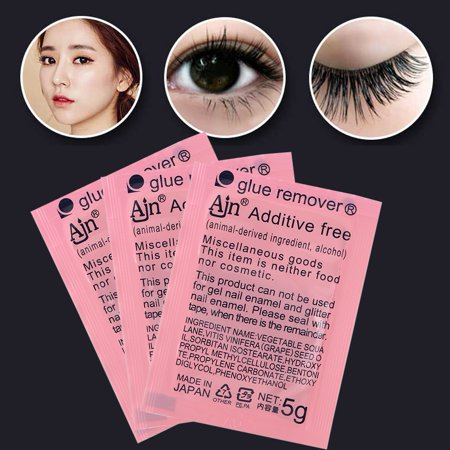 Eyelash Extension Remover Cream,Ymiko 5g Eyelash Extension Remover Cream Glue Gel Removing Professional False Eyelashes