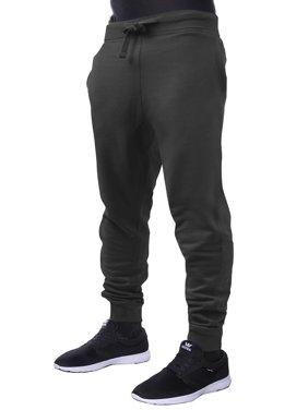 Mens Basic Jogger Pants Fleece Slim Fit Fleece Sweatpants
