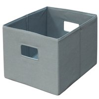 Better Homes and Gardens Half-Height Fabric Cube Storage Bin
