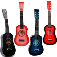 "23"" 6-String Acoustic Guitar Kids Educational Toy - Assorted Colors"
