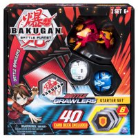 Bakugan, Battle Brawlers Starter Set with Bakugan Transforming Creatures, Pyrus Hydorous, for Ages 6 and Up