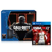 Sony PlayStation 4 500GB Console with Call of Duty Black Ops III + NBA 2K17 Game