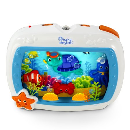 Baby Einstein Sea Dreams Soother Crib Toy with Remote, Lights and Melodies Baby Einstein Crib Toy