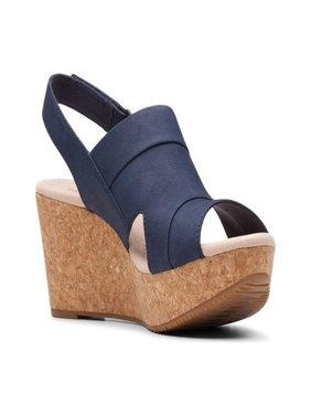 Women's Clarks Annadel Ivory Wedge Sandal
