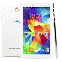 """Indigi® 7.0"""" Unlocked 3G Smart Cell Phone 2-in-1 Phablet Android 4.4 Tablet PC AT&T / T-Mobile (White)"""
