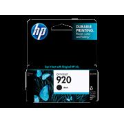 HP 920 (CD971AN) Black Original Ink Cartridge (420 Yield)