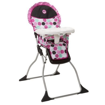 Disney Baby Simple Fold™ Plus High Chair, Minnie (Cosco Flat Fold High Chair Fruity Jungle)