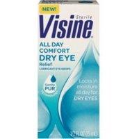 2 Pack - Visine Tears Long Lasting Dry Eye Relief Lubricant Eye Drops 1/2 FL oz